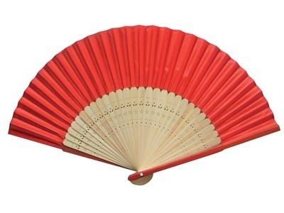 Red Silk Fans