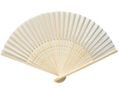 Ivory Silk Fans