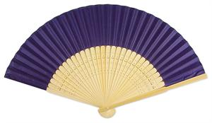 Cadbury's Purple Silk Fans