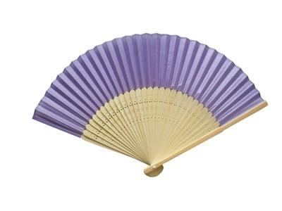 Lilac Silk Fans