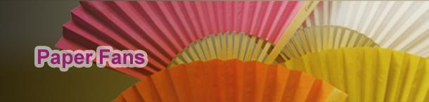 Paper Fans Banner