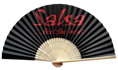 200 x Printed Promotional Paper Fans