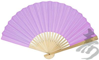Lavender Paper Hand Fans