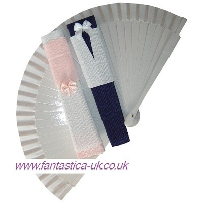 NEW! Bride & Groom Decorated Fans