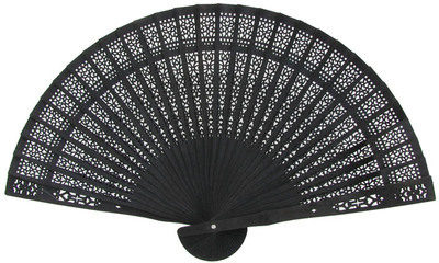 Black Sandalwood Fan