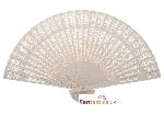 New! White Sandalwood Fan