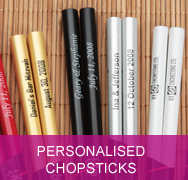 <!-- 090 -->Personalised Chopsticks