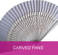 <!-- 004 --> Carved Wedding Fans