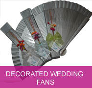 <!-- 005 --> Decorated Wedding Fans