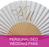 <!-- 003 --> Personalised Wedding Fans