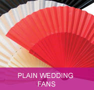 <!-- 006 --> Plain Wedding Fans
