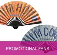 <!-- 070 -->Promotional Fans