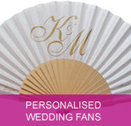 Personalised Wedding Fans By Fantastica Supplier Of Hand For Weddings Promotions Other Special Occasions