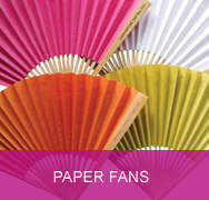<!-- 020 -->Plain Colour Paper Fans
