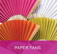 <!-- 020 -->Plain Colour Paper Fans
