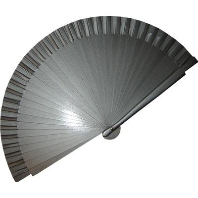 Plain Silver Fans