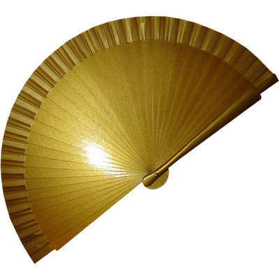 Plain Gold Fans