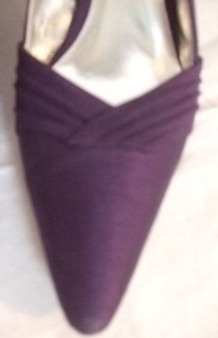 jacques vert plum fabric upper