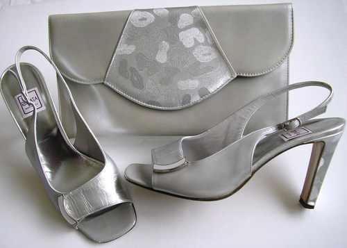 Designer Grey Wedding Shoes