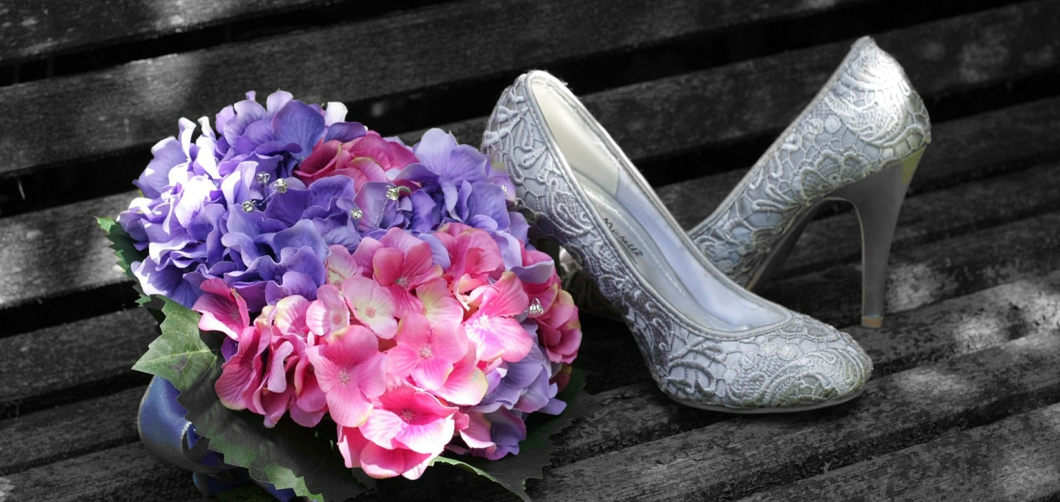 Wedding occasions shoes matching bags