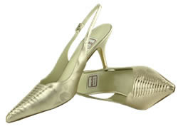 Renata designer shoes  Champagne.mother bride Size 7.