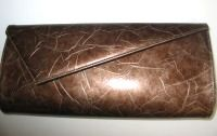 Gina London clutch envelope bag bronze clutch bag
