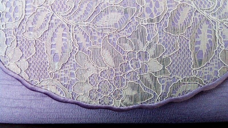 Jacques Vert lavender lace bag)