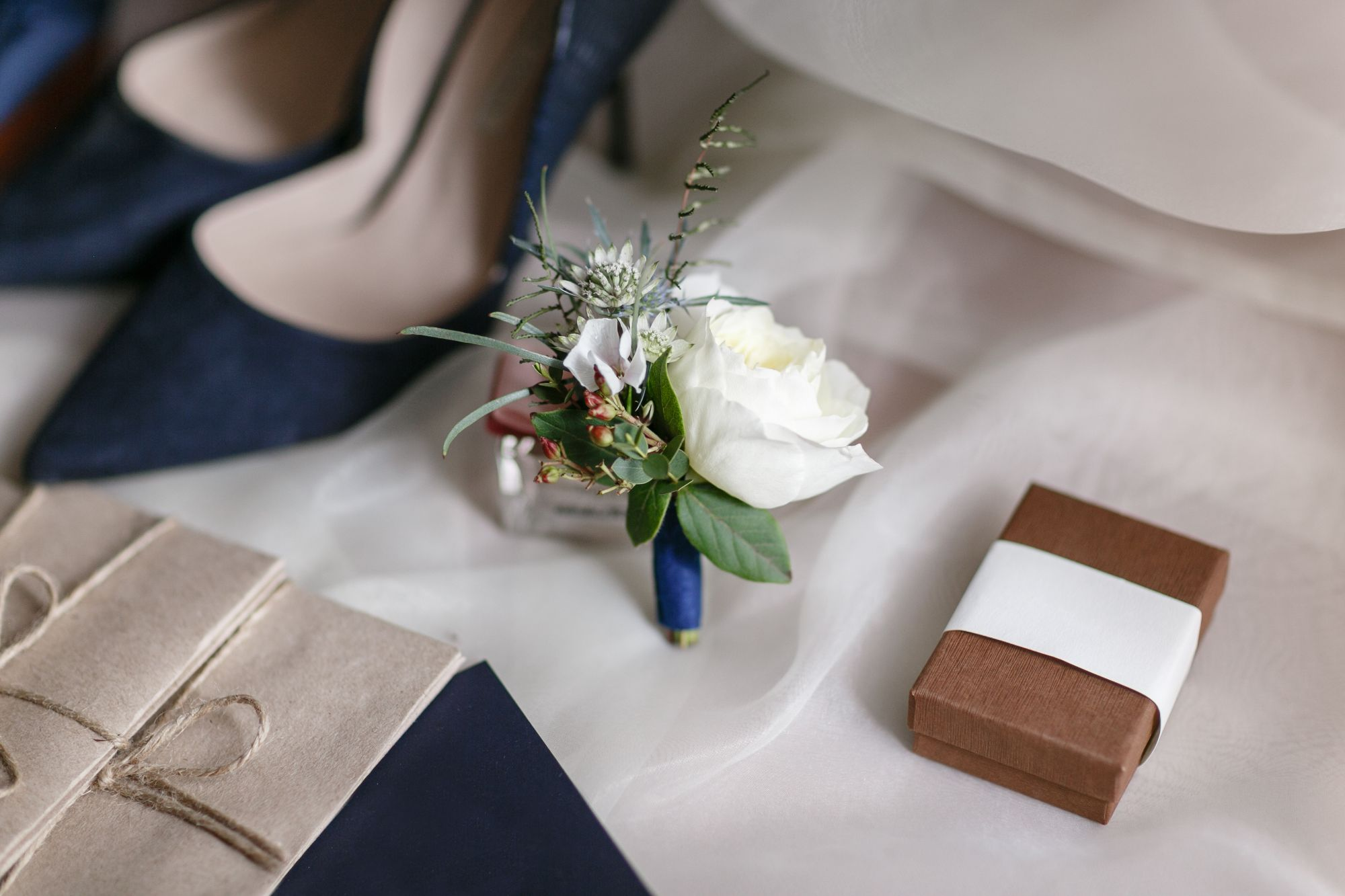 Navy Wedding Shoes