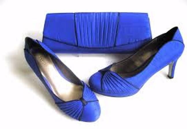 Jacques Vert shoes  in Cobalt Blue size 6