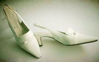 Gina London wedding shoes ivory Arianna size 4