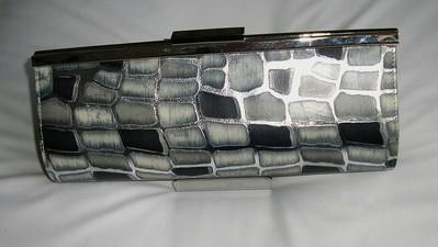 Belladona grey silver bag clutch image 001