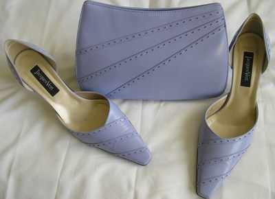 Jacques Vert mother /bride shoes lilac.size7.5.new