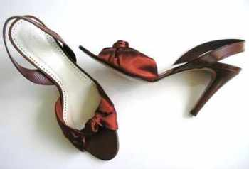 Pedro Garcia designer shoes sandals rust brown size 5.5