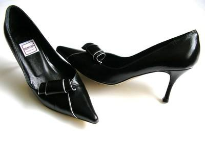 Renata shoes black scroll size4 001