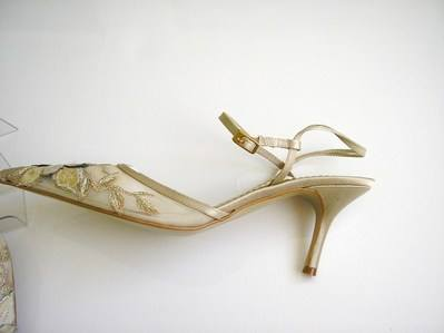 Spanish MARIAN slingbacks wedding size 7 003