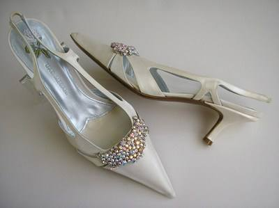 Spanish MARIAN slingbacks wedding size 7 014