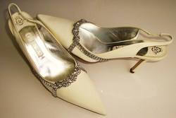 Gina Eva ivory and crystals bridal shoes 006