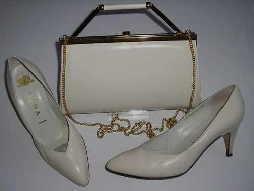 Clutch Bag and Shoes