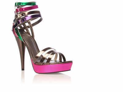 Carvela designer shoe.Hyper.metallics 5