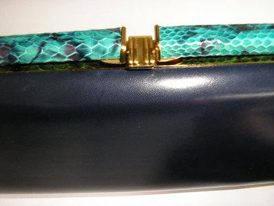 Ackery large navy clutch fastener