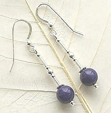 ASSORTED GEMSTONE STERLING SILVER EARRINGS