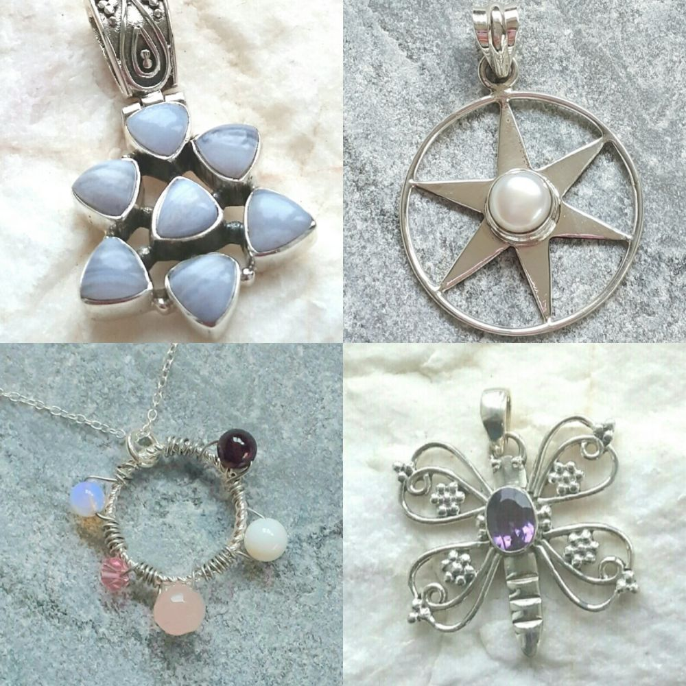 <!-- 002 -->Gemstone Necklaces & Pendants