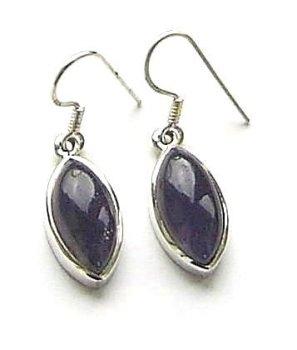 Kyanite Marquise Gemstone Earrings