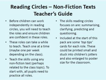 Reading Circles - Non Fiction Pack