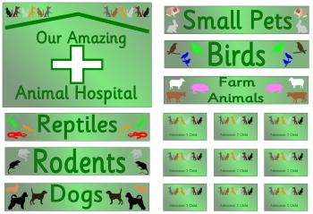 Role Play Pack - Animal Shelter