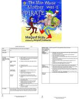 The Man whose Mother was a Pirate Guided Reading Plans