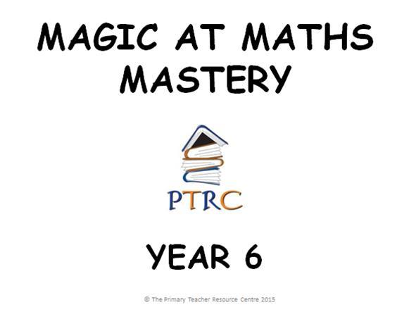 Year 6 Maths Mastery Activities