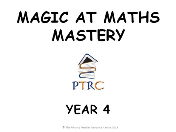 Year 4 Maths Mastery Activities
