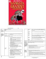 Gangsta Granny Guided Reading Plans