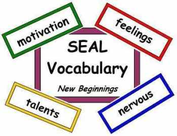 SEAL Vocabulary - New Beginnings
